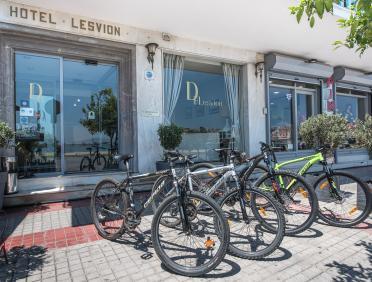 Rent bicycle Mytilene
